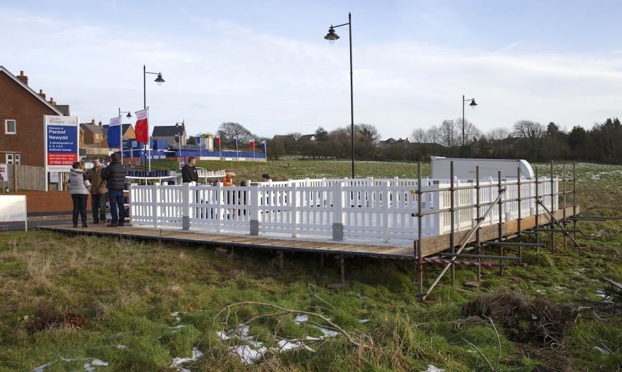 Temporary Ice Rink